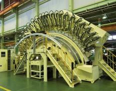 A-5999 ロールフレームトリム加工機 新規設計製作